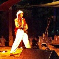 Job Bunjob on stage