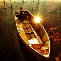 Sunkissed boat