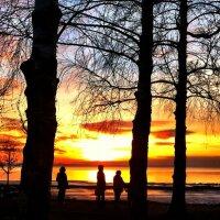 Sunset a trois