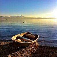 Beautiful scenery at the Lake